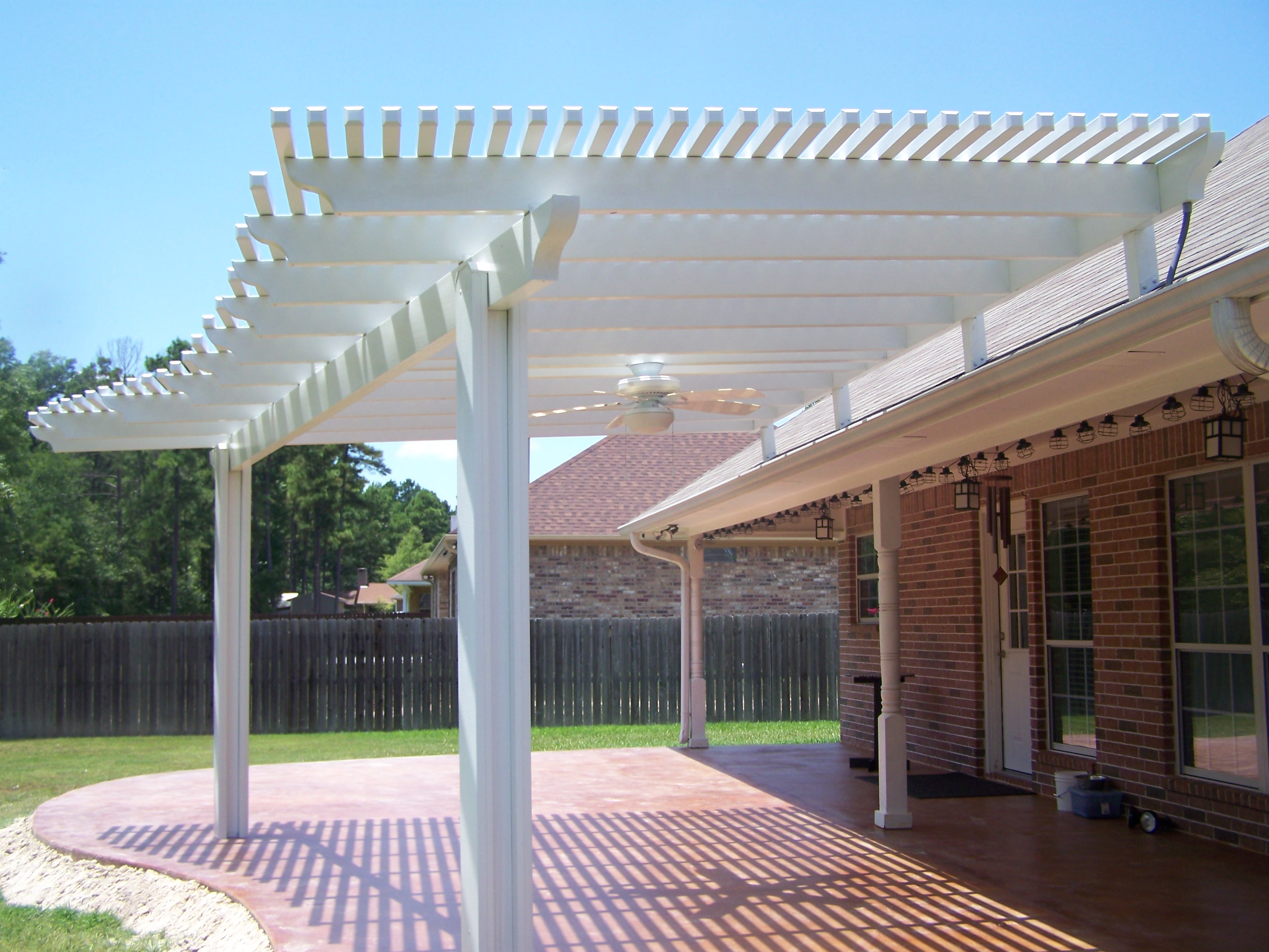 pergolas lufkin tx gallups custom aluminum. Black Bedroom Furniture Sets. Home Design Ideas